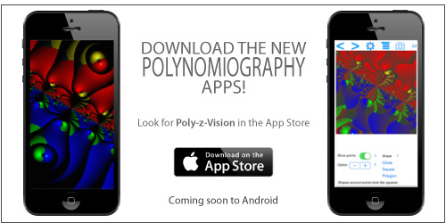 Polynomiography Apps now available on iTunes