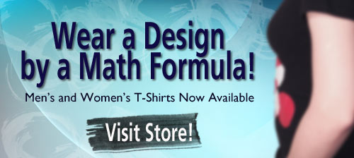 Visit the Polynomiography Store for Men's and Women's T-Shirts!